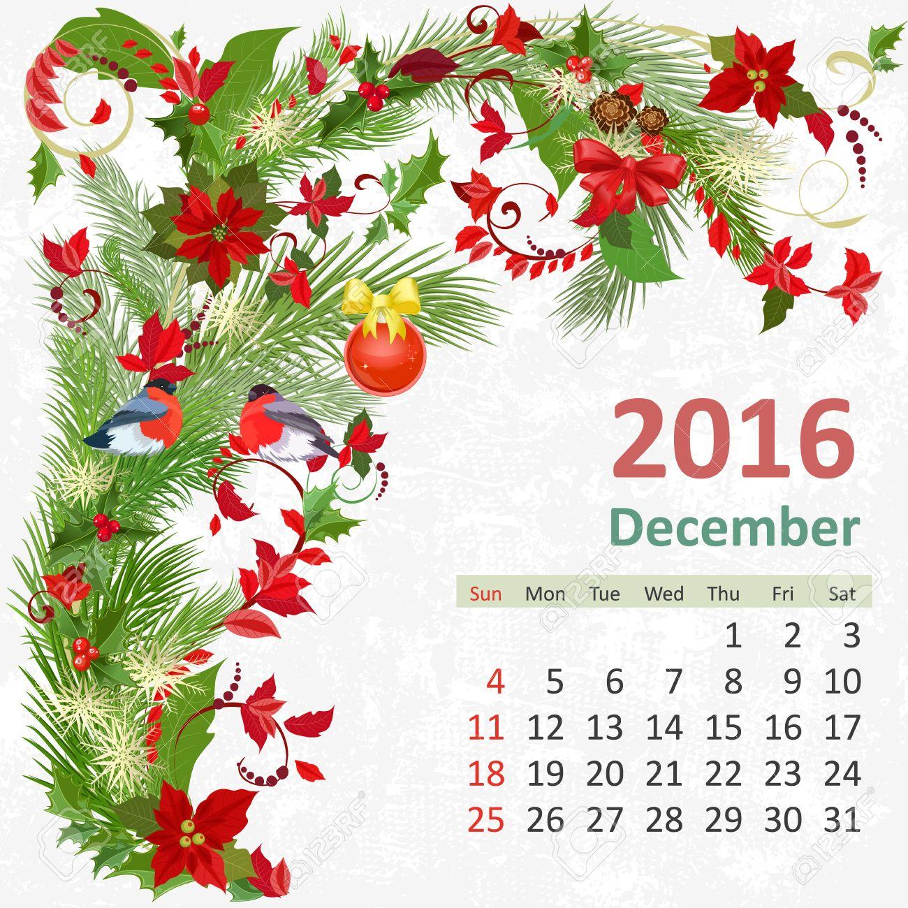 Risultati immagini per dicembre calendario