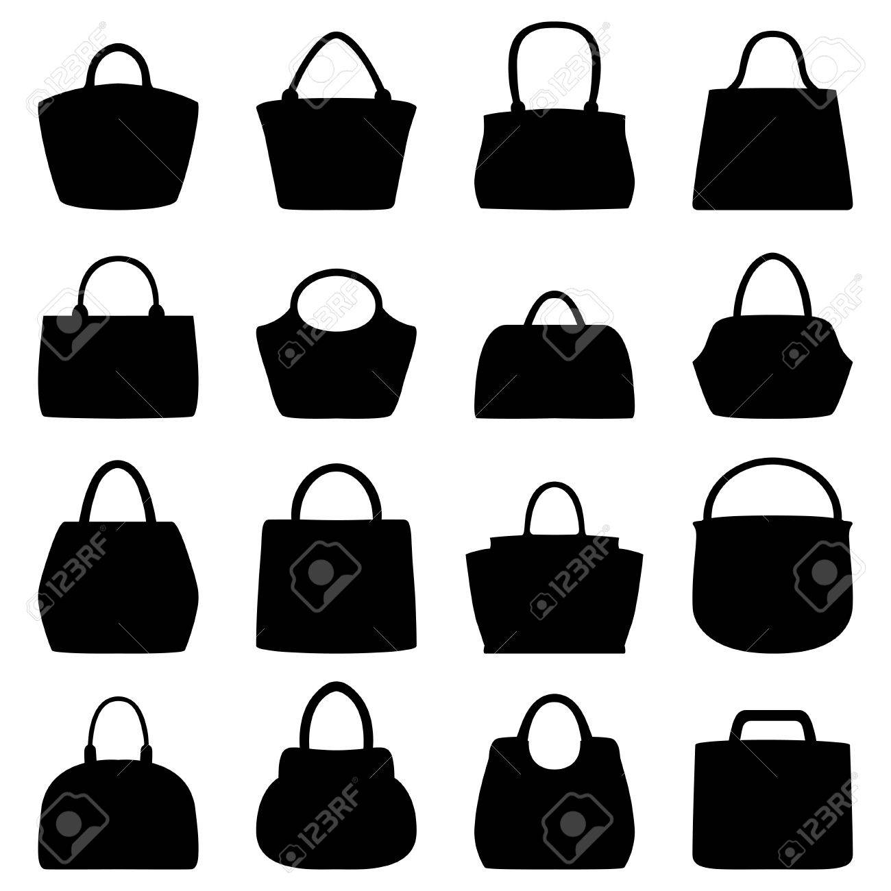 Set Of Women Bags, Vector Illustration Royalty Free Cliparts ... 9f36b996b4