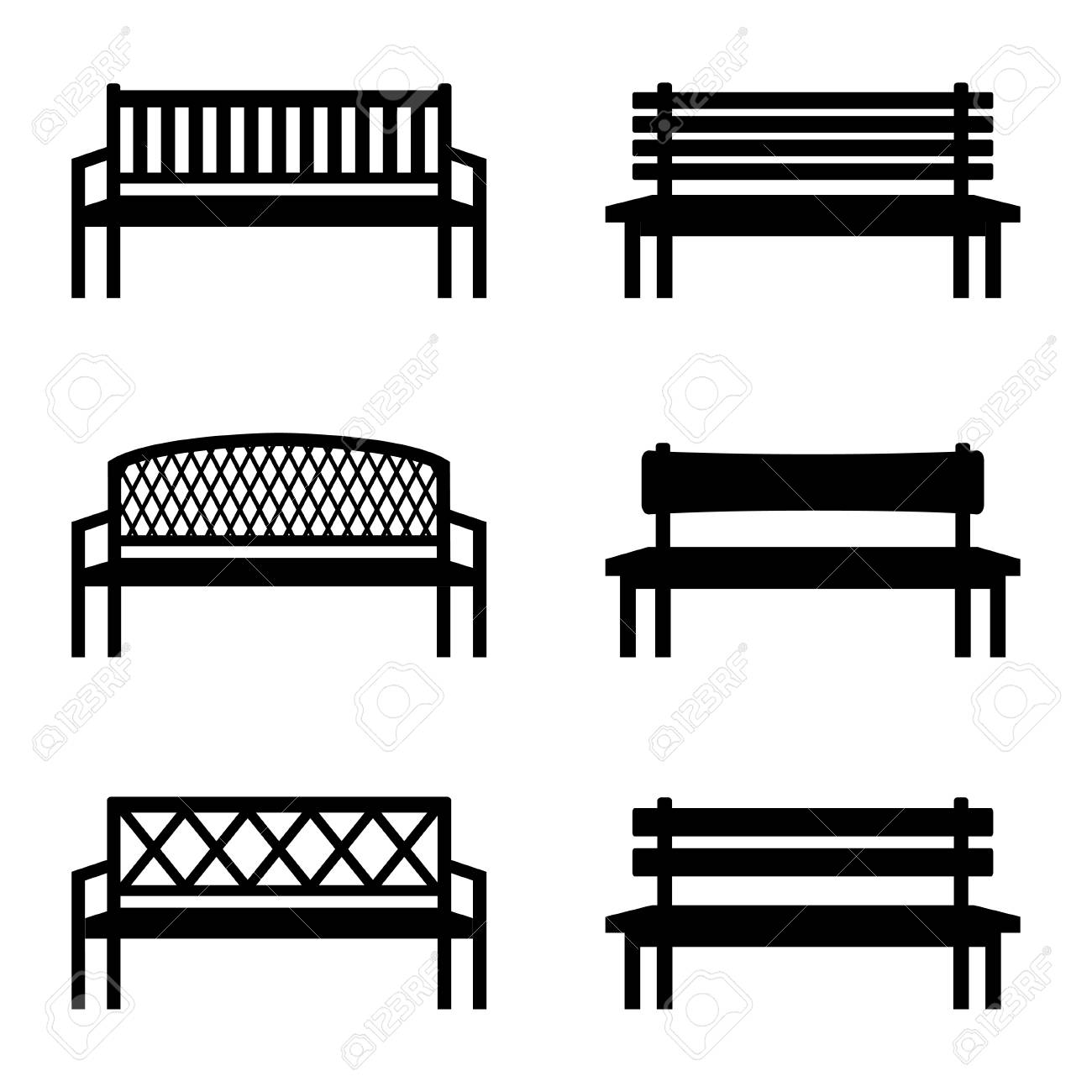 30   Best Bench Side View for Bench Silhouette Side  181pct