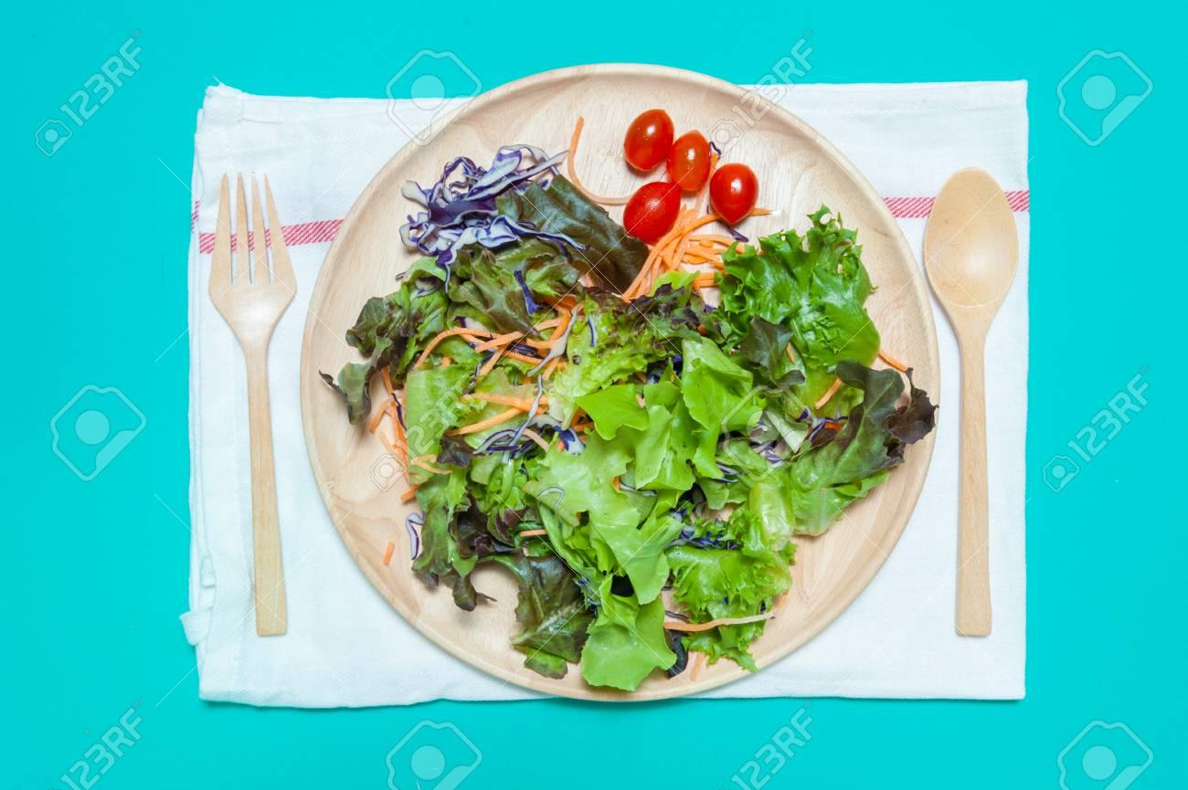 frutas y verduras saladas