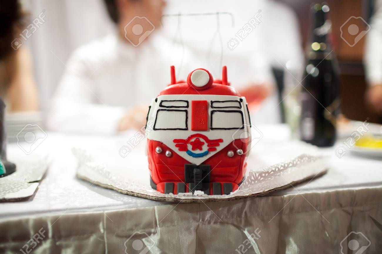 Fantastic Train Birthday Cake With Clipping Path Stock Photo Picture And Funny Birthday Cards Online Fluifree Goldxyz