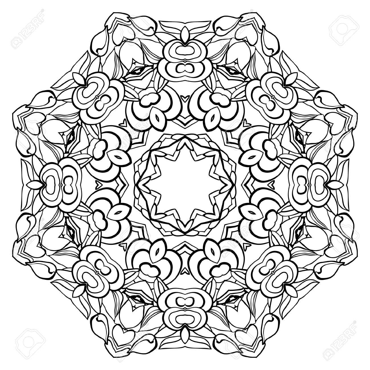 Excepcional Desafiantes Mandalas Para Colorear Imagen - Ideas Para ...