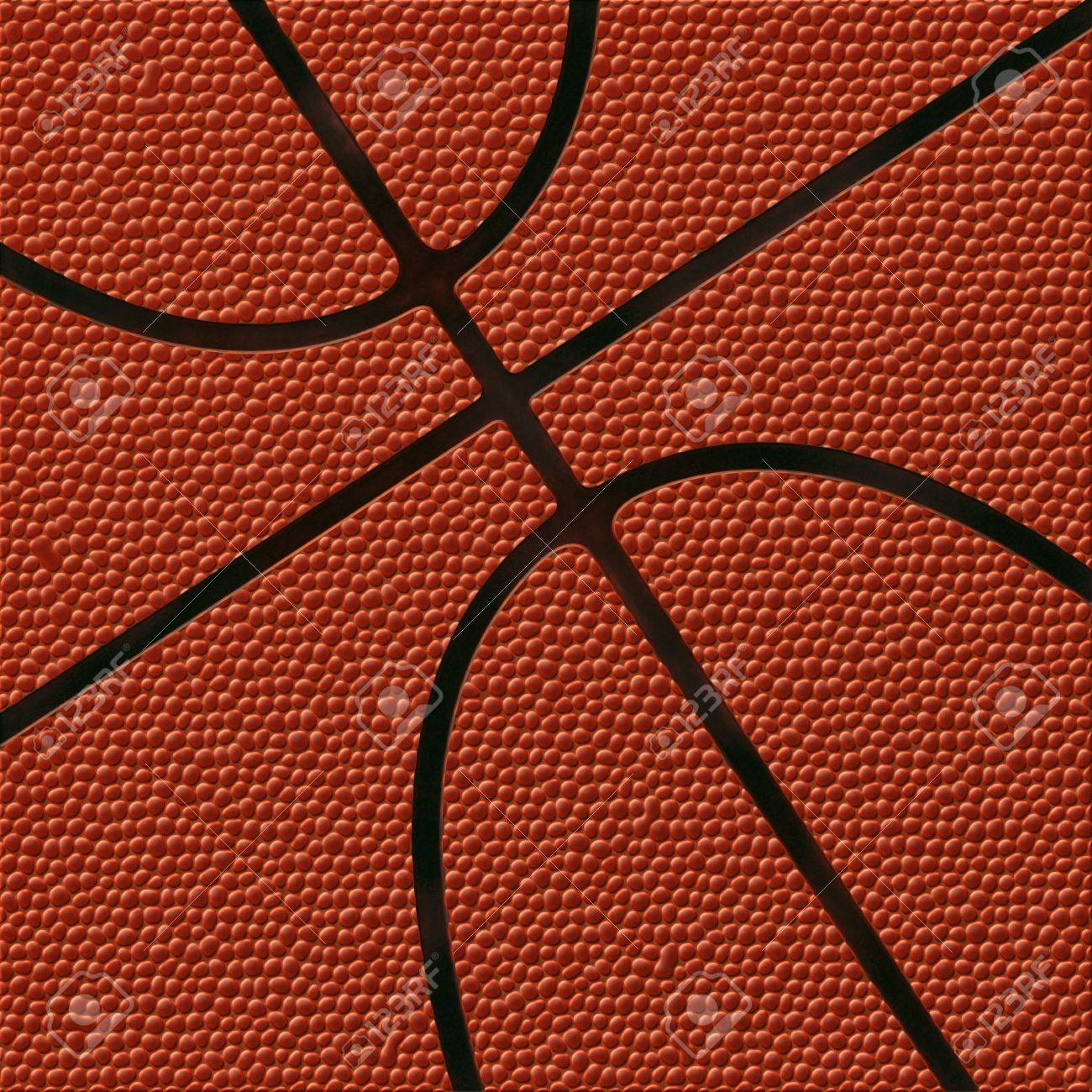 Basketball Background | Highly Detailed Texture Stock Photo - 6388428