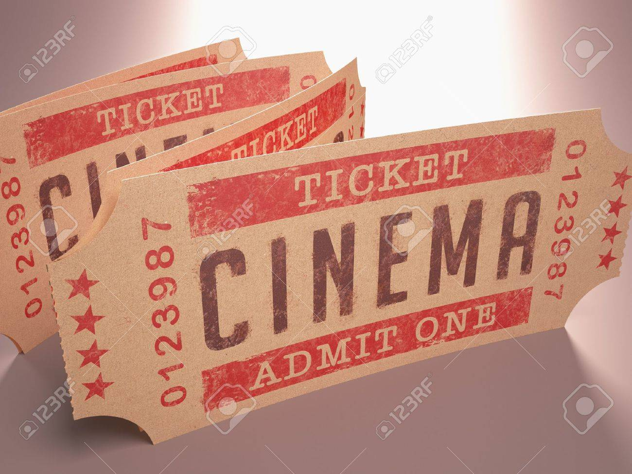 Entry ticket to the cinema Admit One - 16005227