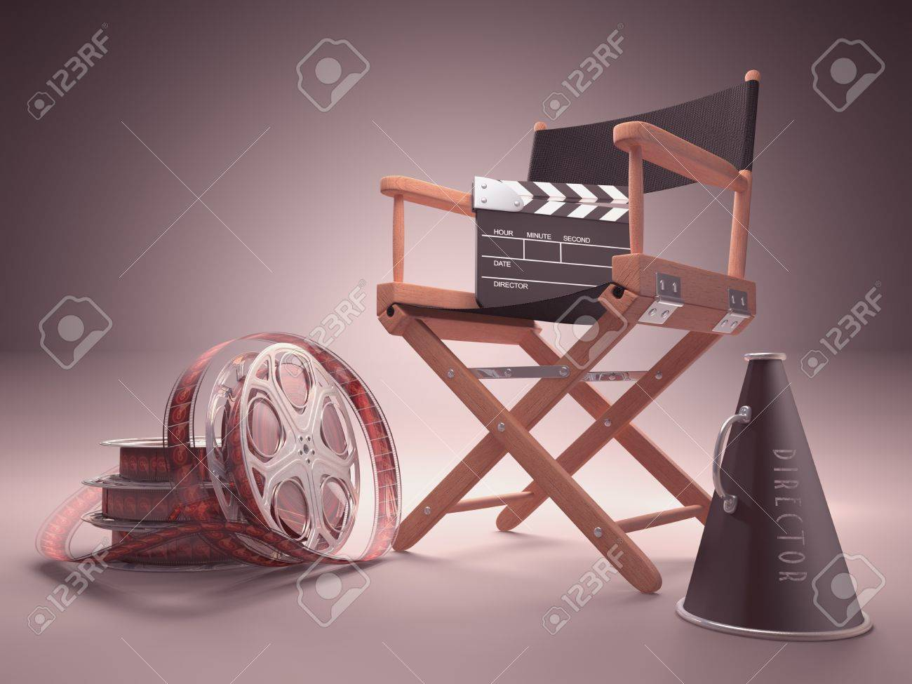 Objects of the film industry, the concept of cinema. - 16107157