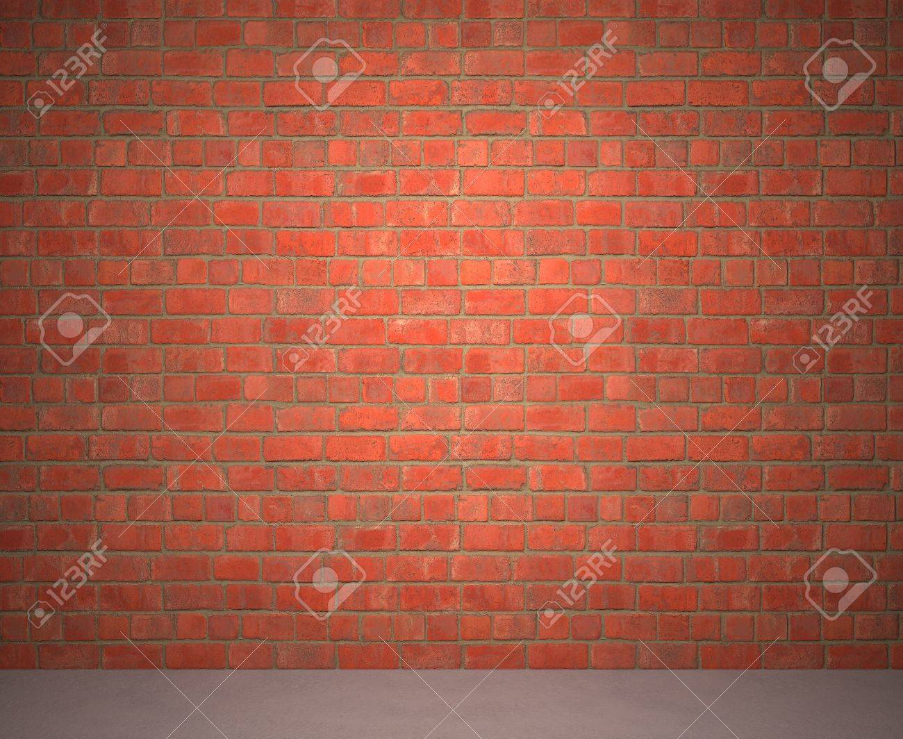 Exposed Brick Wall Exposed Brick Wall Next To A Sidewalk Stock Photo Picture And