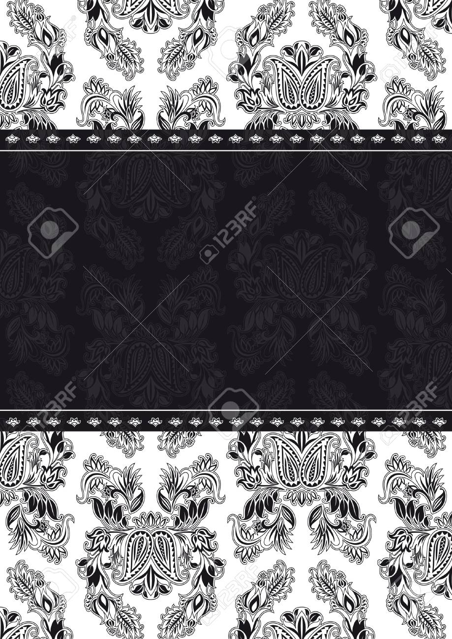 Vector Pattern and Frame Stock Vector - 9120694