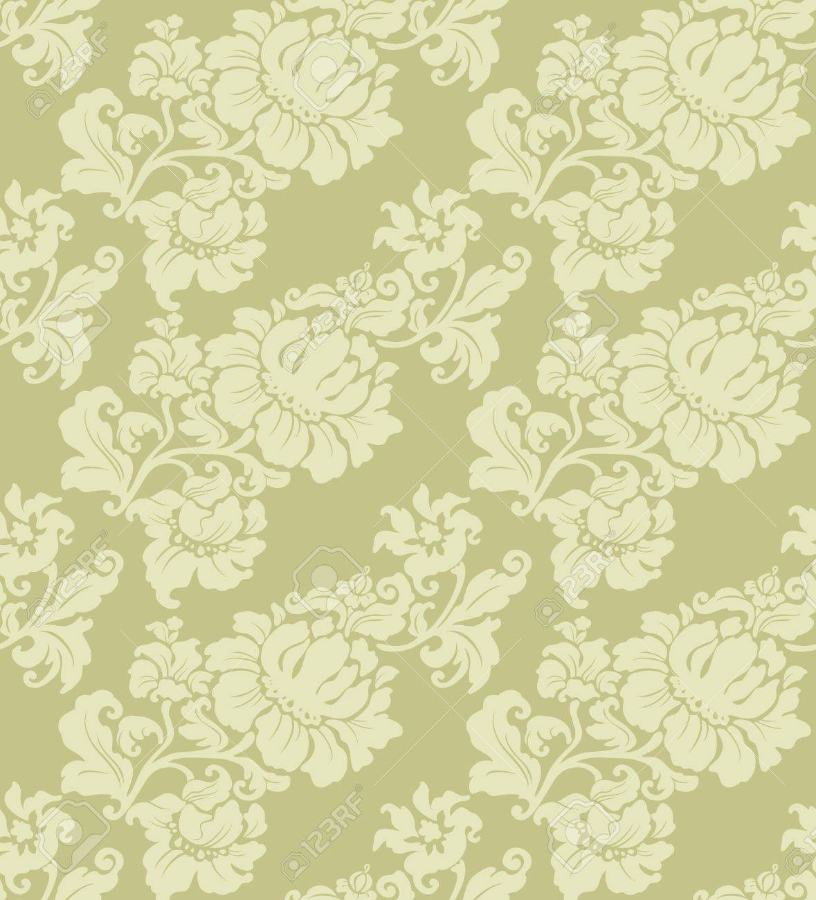Seamless Floral Pattern Stock Vector - 10612231
