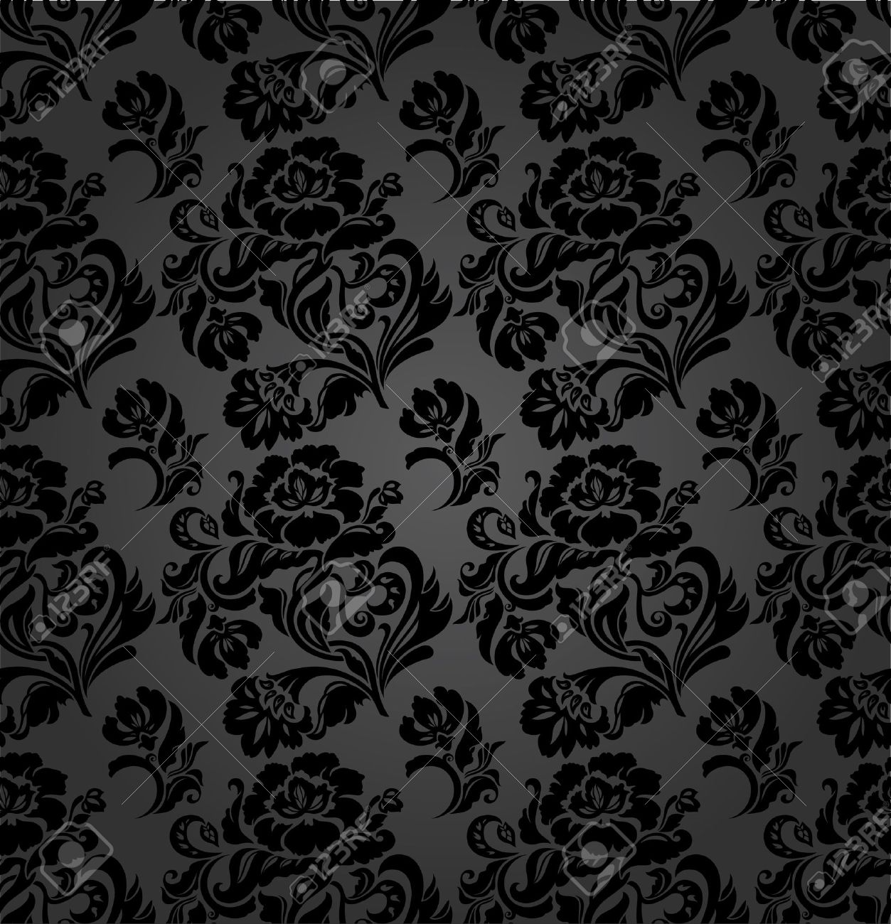 Curtain Texture Seamless seamless pattern, curtains floral, vector royalty free cliparts