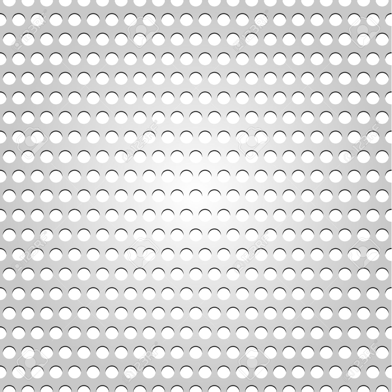 Seamless metal surface, gray background perforated texture Stock Vector - 12178539