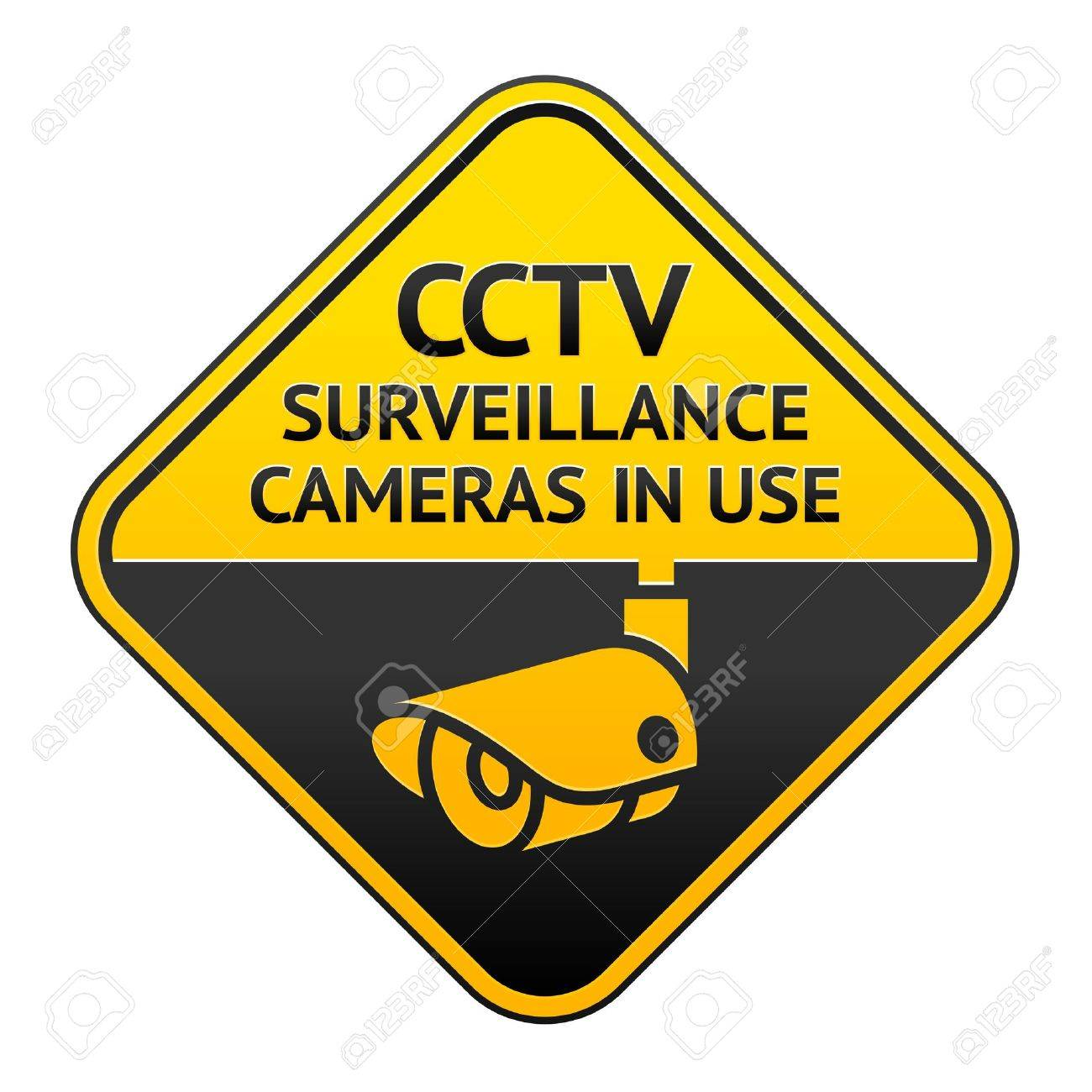 CCTV pictogram, video surveillance symbol Stock Vector - 12497398