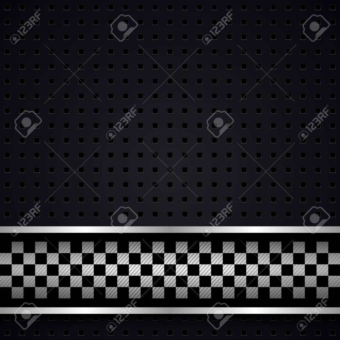 Structured dark metallic perforated for race sheet Stock Vector - 13330847