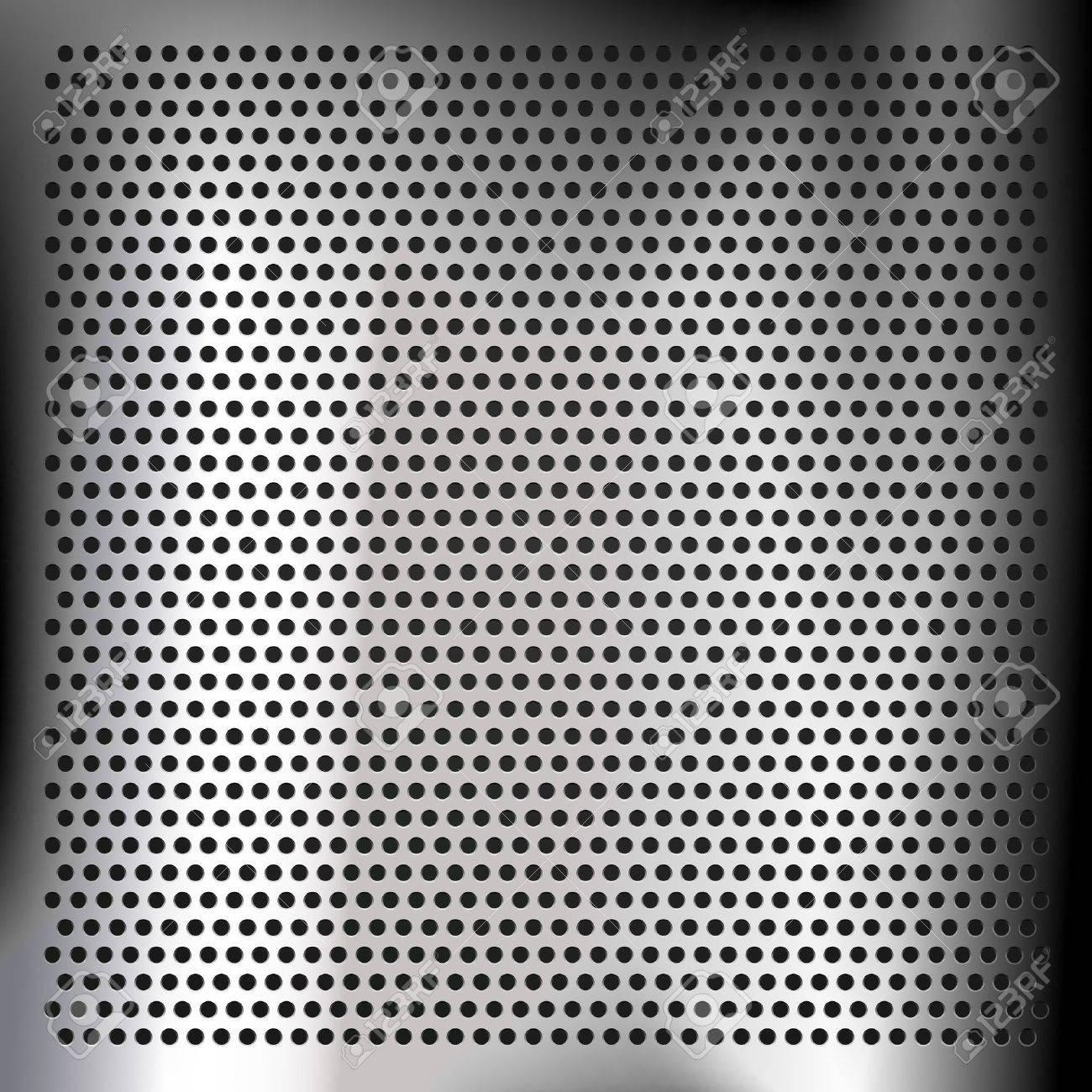 Chrome-plated sheet metal Stock Vector - 13630123