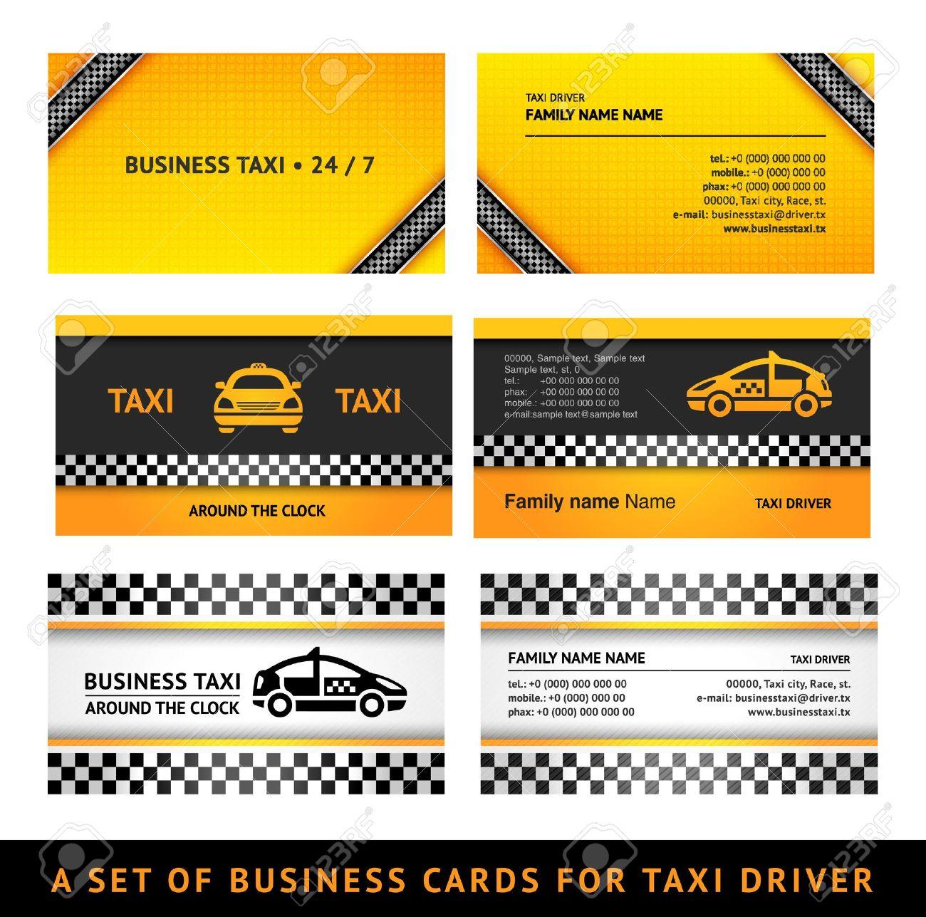 Business card taxi third set card taxi templates royalty free business card taxi third set card taxi templates stock vector 14171585 colourmoves