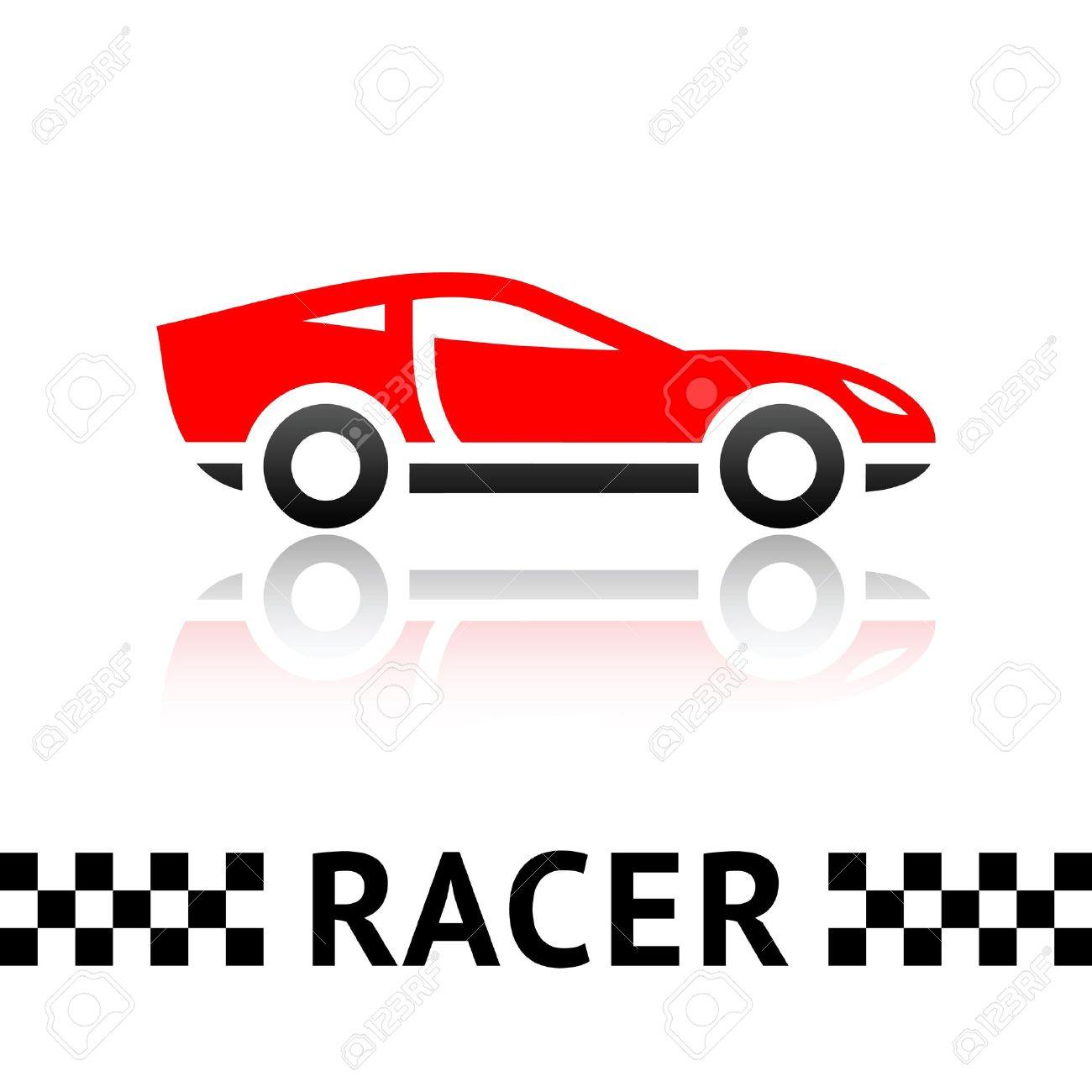race car symbol royalty free cliparts vectors and stock rh 123rf com race car vector templates race car vector package