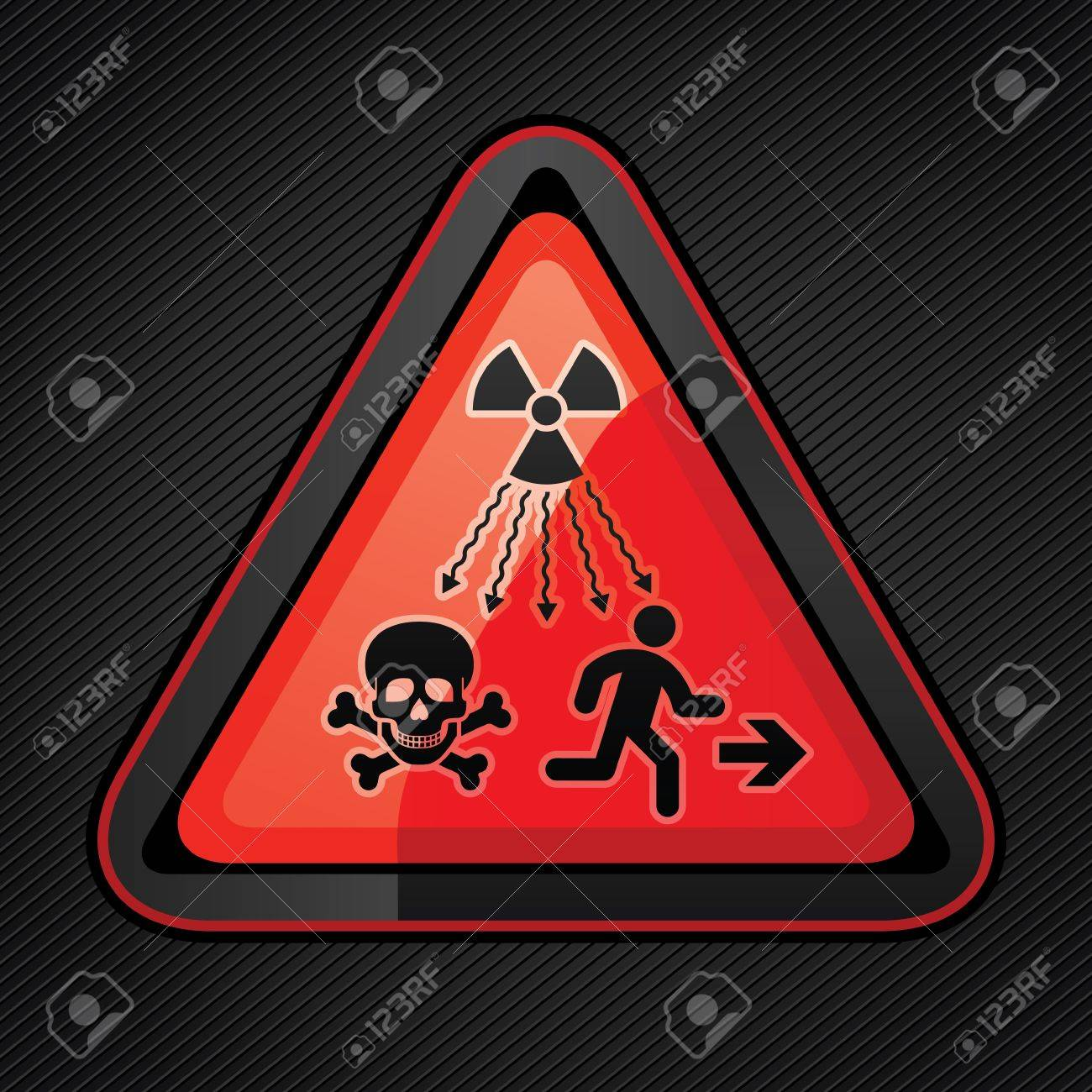 New Symbol Launched to Warn Public About Radiation Dangers Stock Vector - 16111098