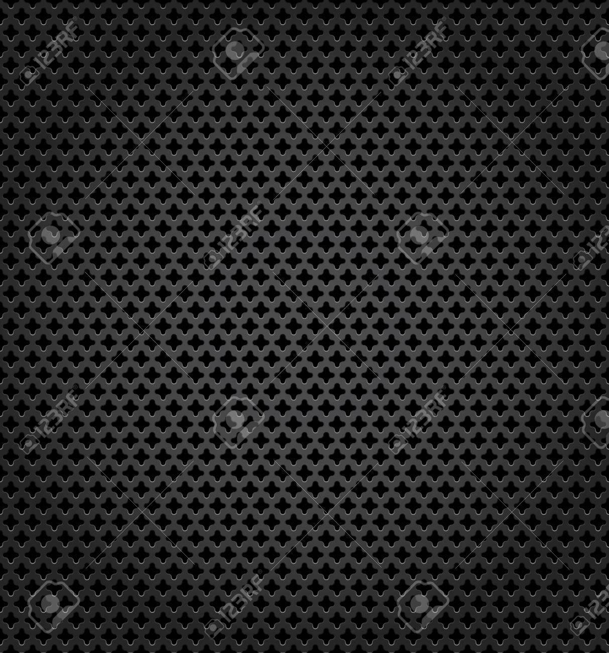 Metallic surface, gray dark background Stock Vector - 16432539