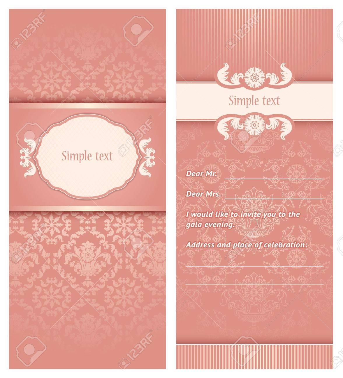 Invitation template Stock Vector - 18548978