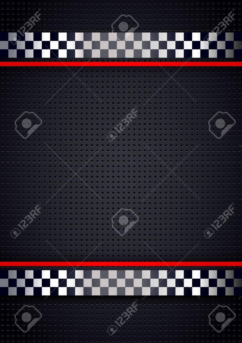 Racing Fondo, Perforada Metálica Ilustraciones Vectoriales, Clip Art ...
