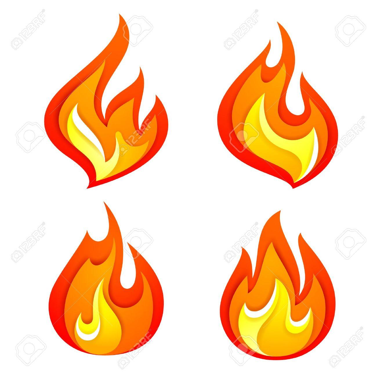 Fire flames Stock Vector - 19731800