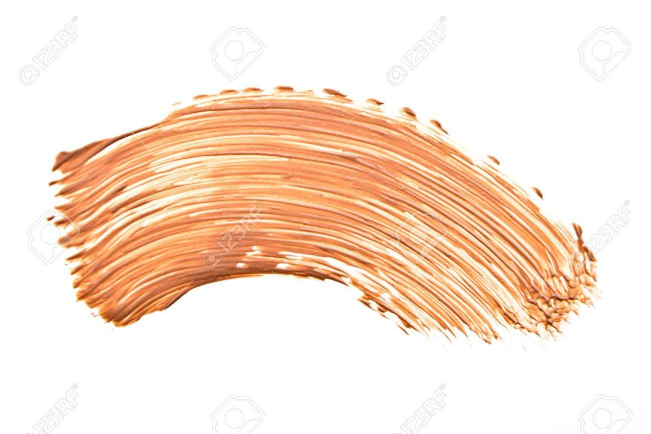makeup foundation isolated on white background Stock Photo - 13729869