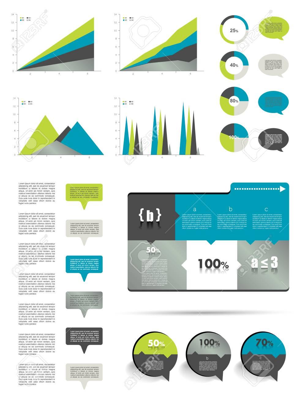 Infographics elements Stock Vector - 21643807