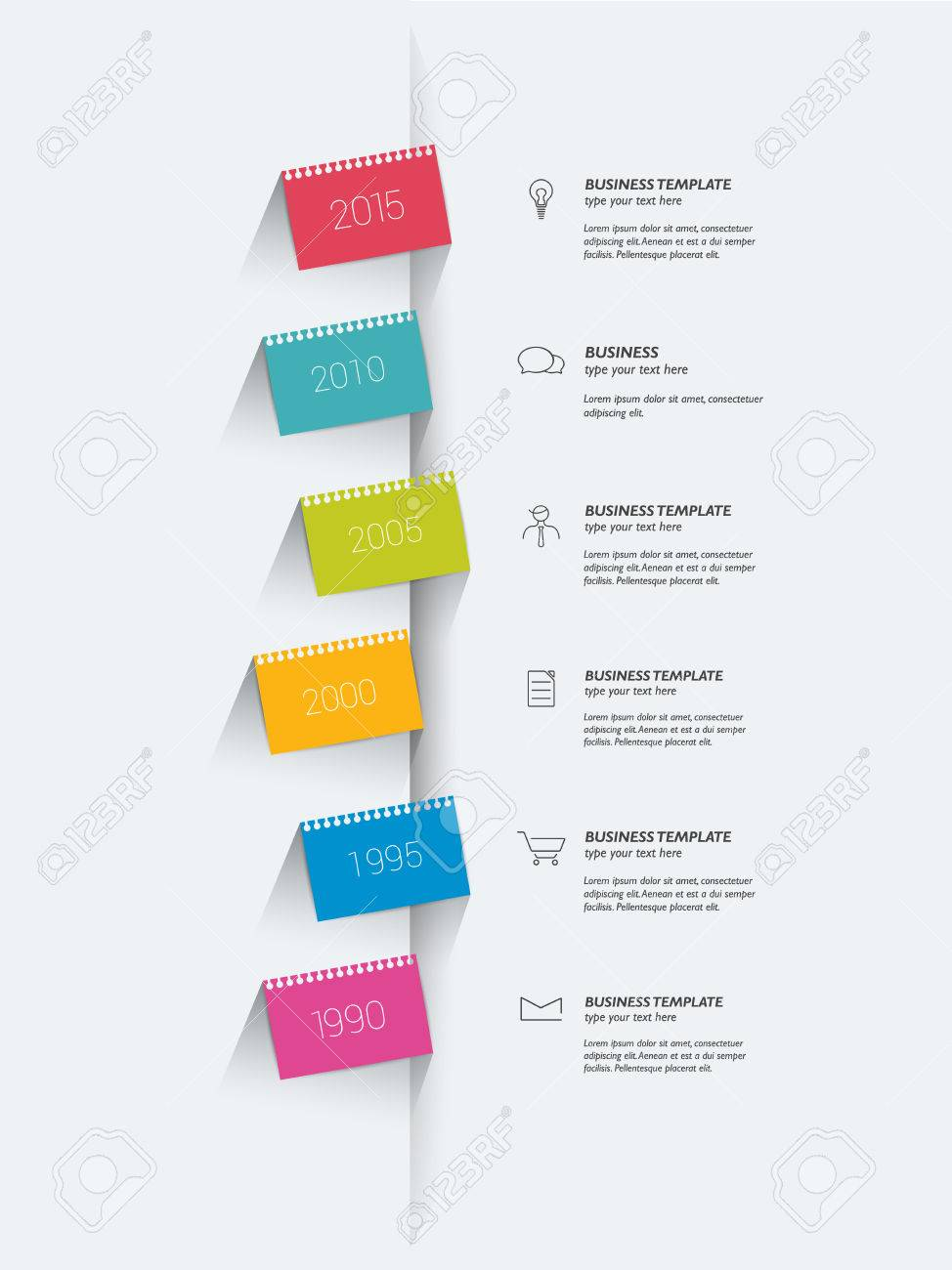 Stickers Template. Text Area Design. Royalty Free Cliparts, Vectors ...