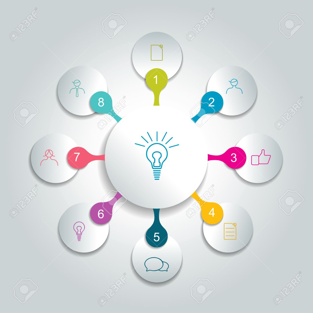 Spider Diagram Photos Images Royalty Free Spider Diagram – Spider Diagram Template