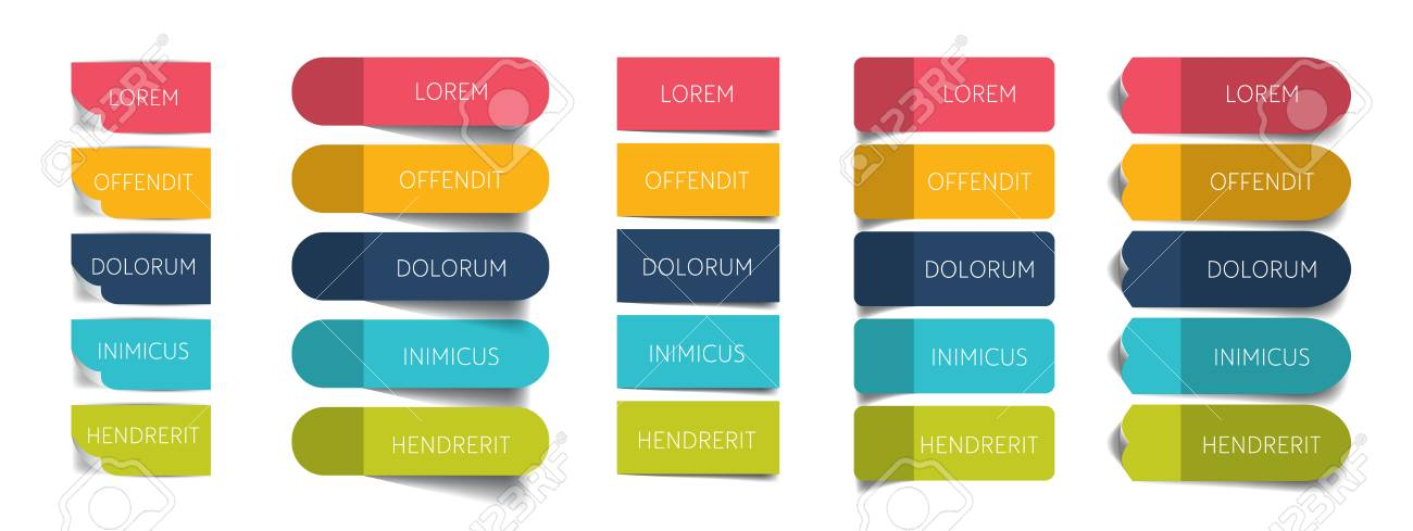 tables schedules design templates vector banner stock vector 82863649