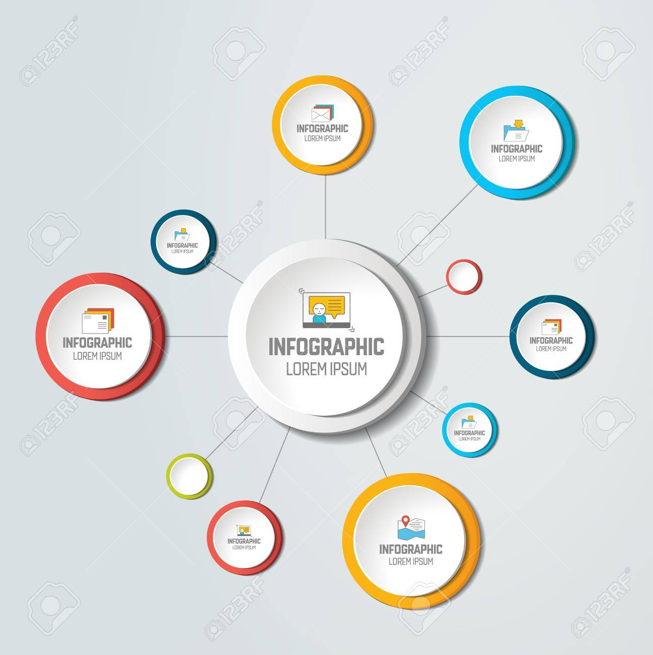 Net molecule structure with circles infographic template net molecule structure with circles infographic template network flow chart nvjuhfo Image collections