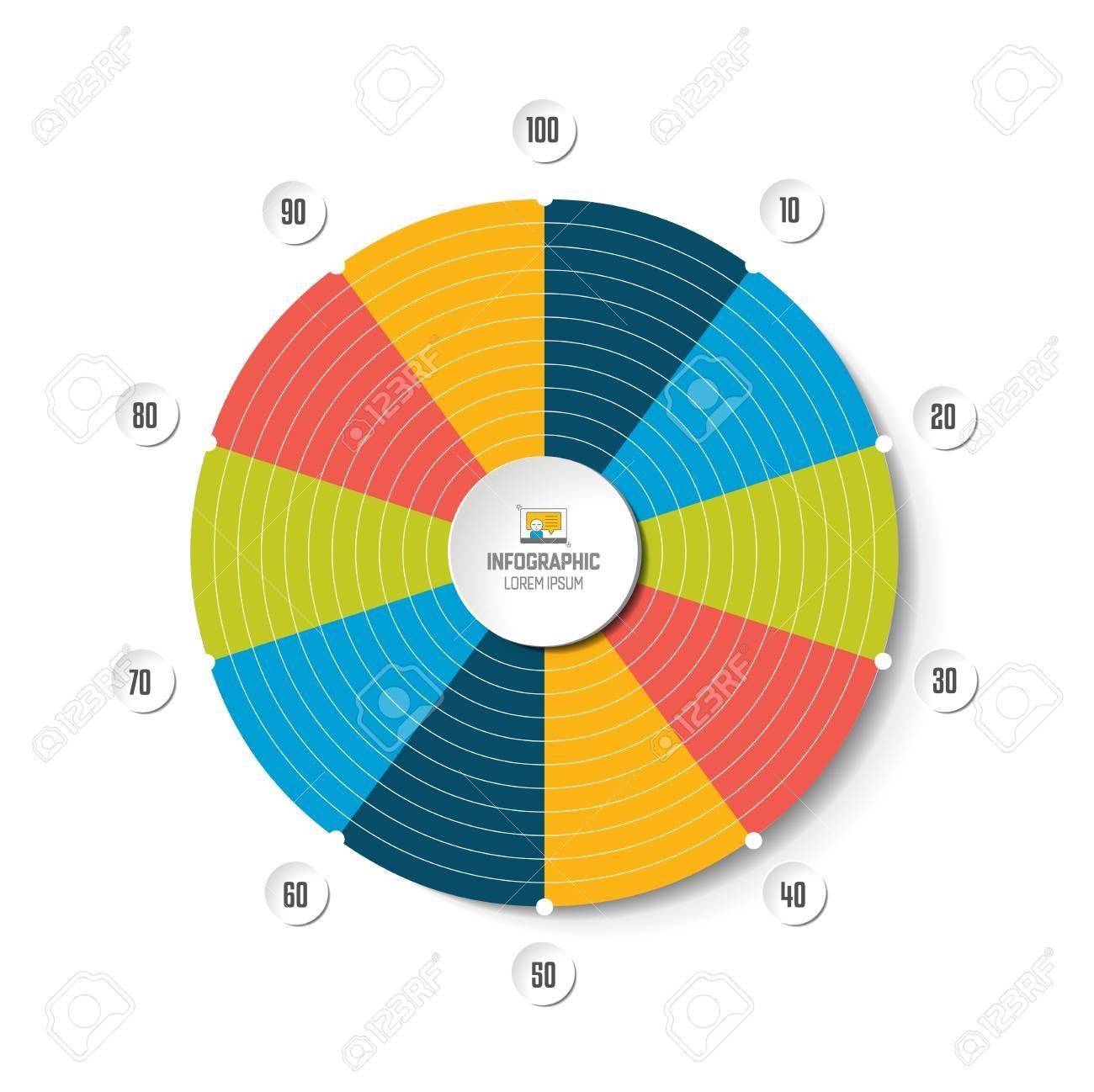 Circle radar spider net chart graph infographics element royalty circle radar spider net chart graph infographics element stock vector 84855319 ccuart Choice Image