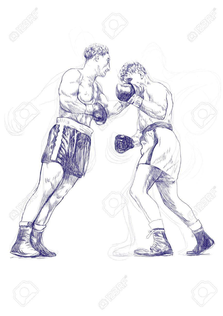 Рисованные картинки о боксе