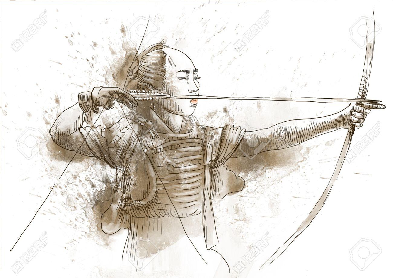 """Résultat de recherche d'images pour """"archer japon"""""""