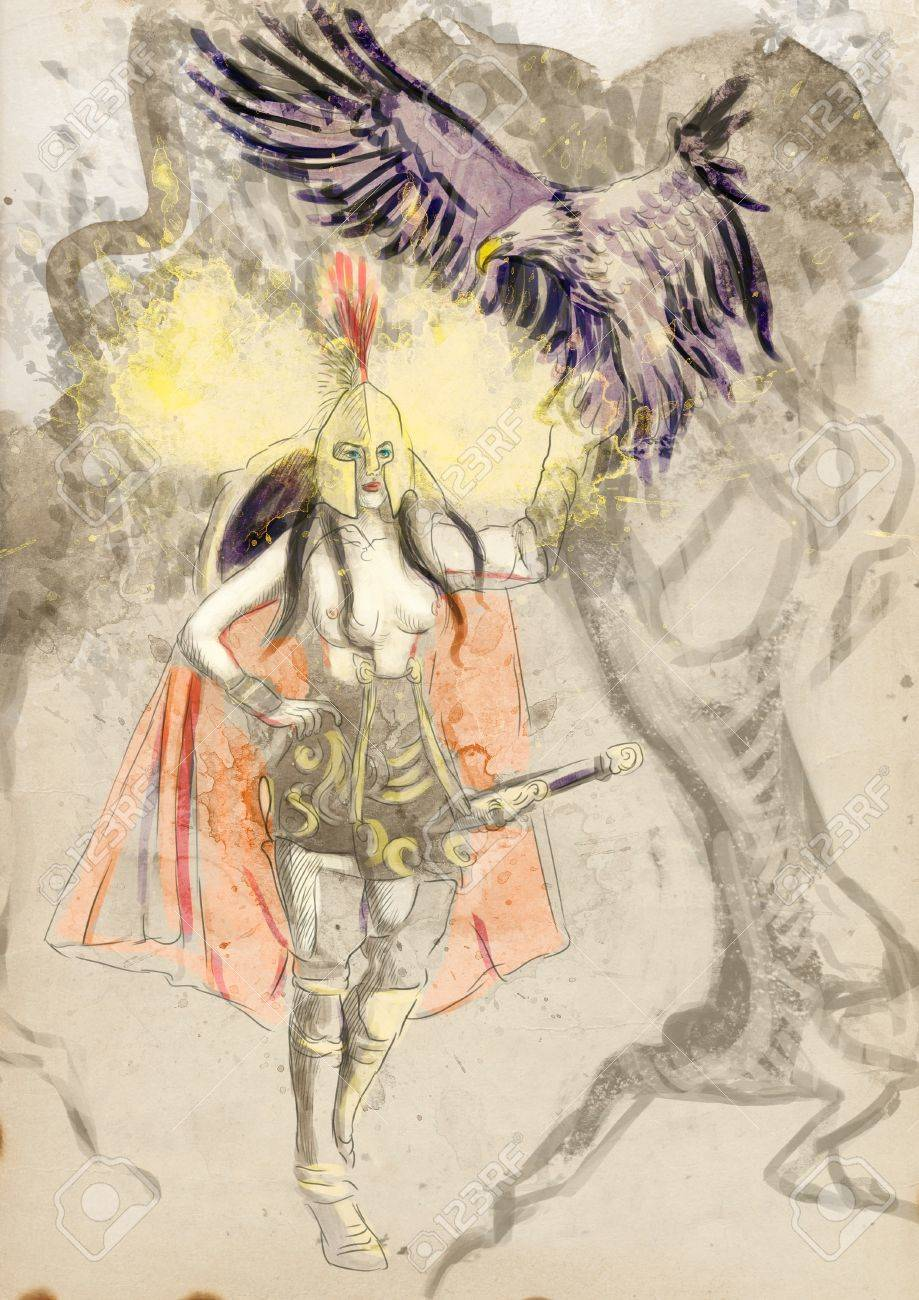 Athena Goddess Of Wisdom Courage Inspiration And Justice