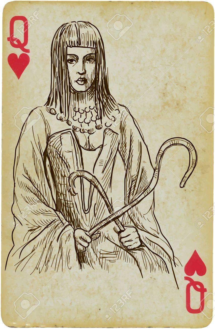 Portrait of Cleopatra Egyptian Queen Stock Vector - 20275907