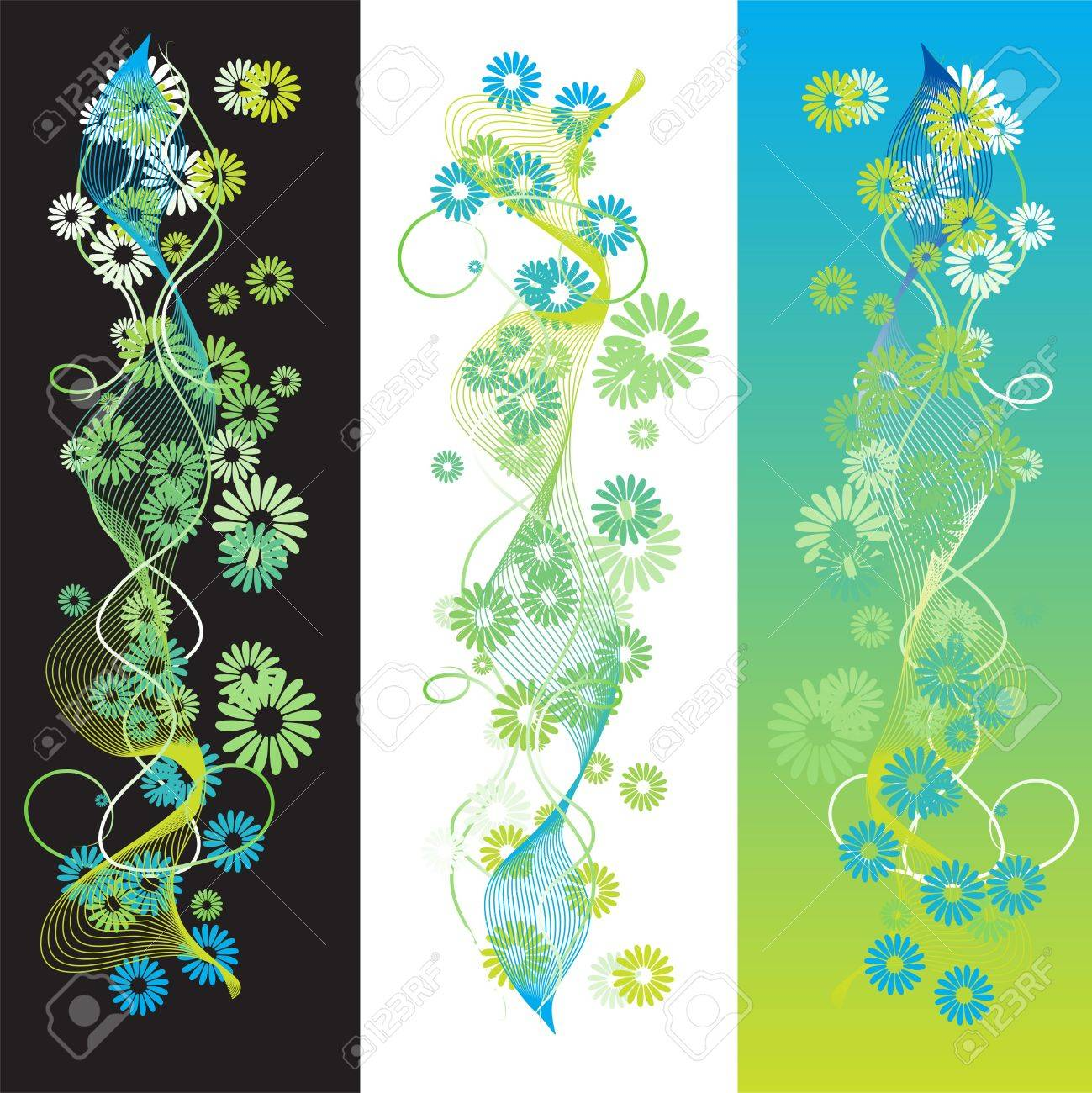 Abstract summer background, retro scroll Stock Photo - 2531204