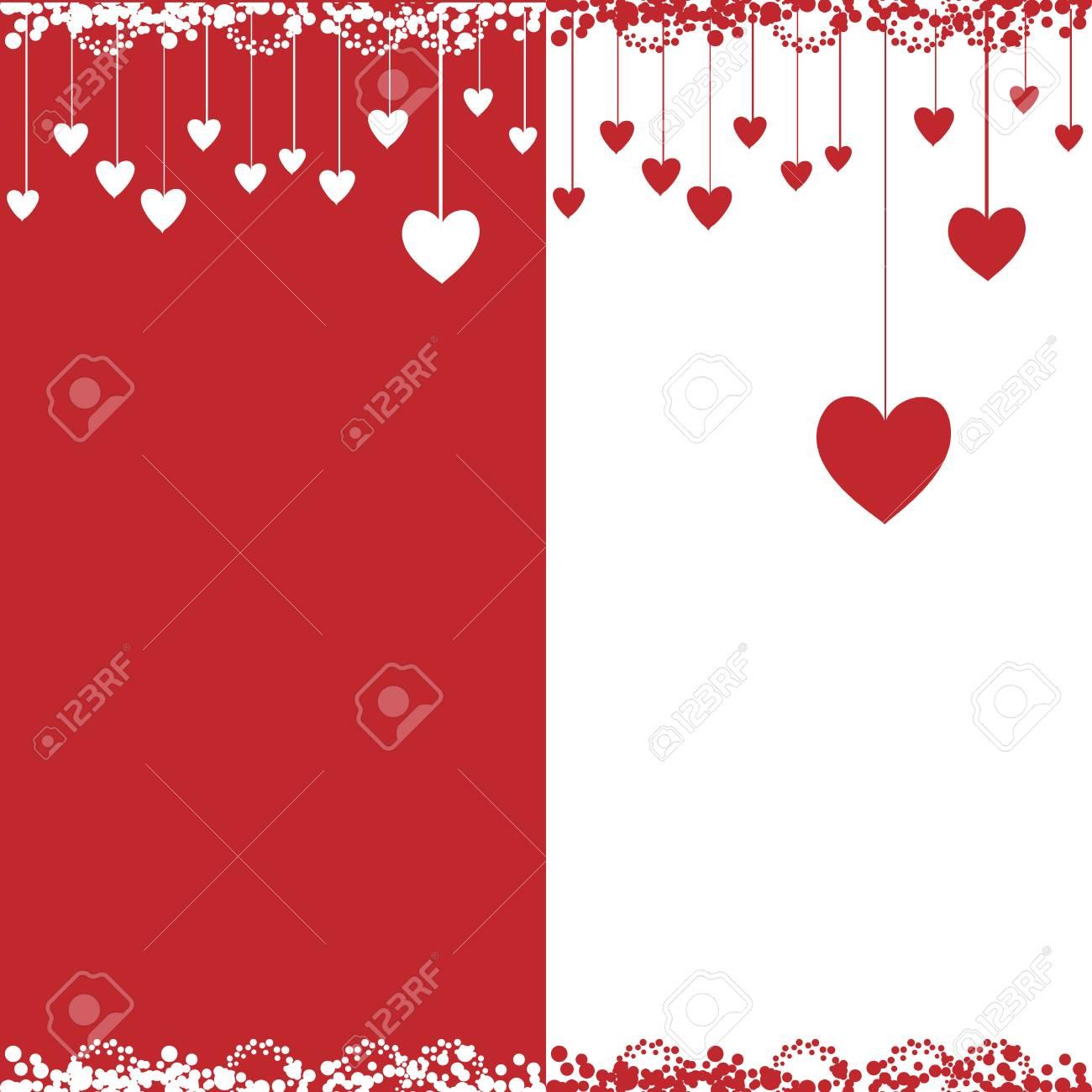 Valentine card, vector illustration Stock Vector - 4562266
