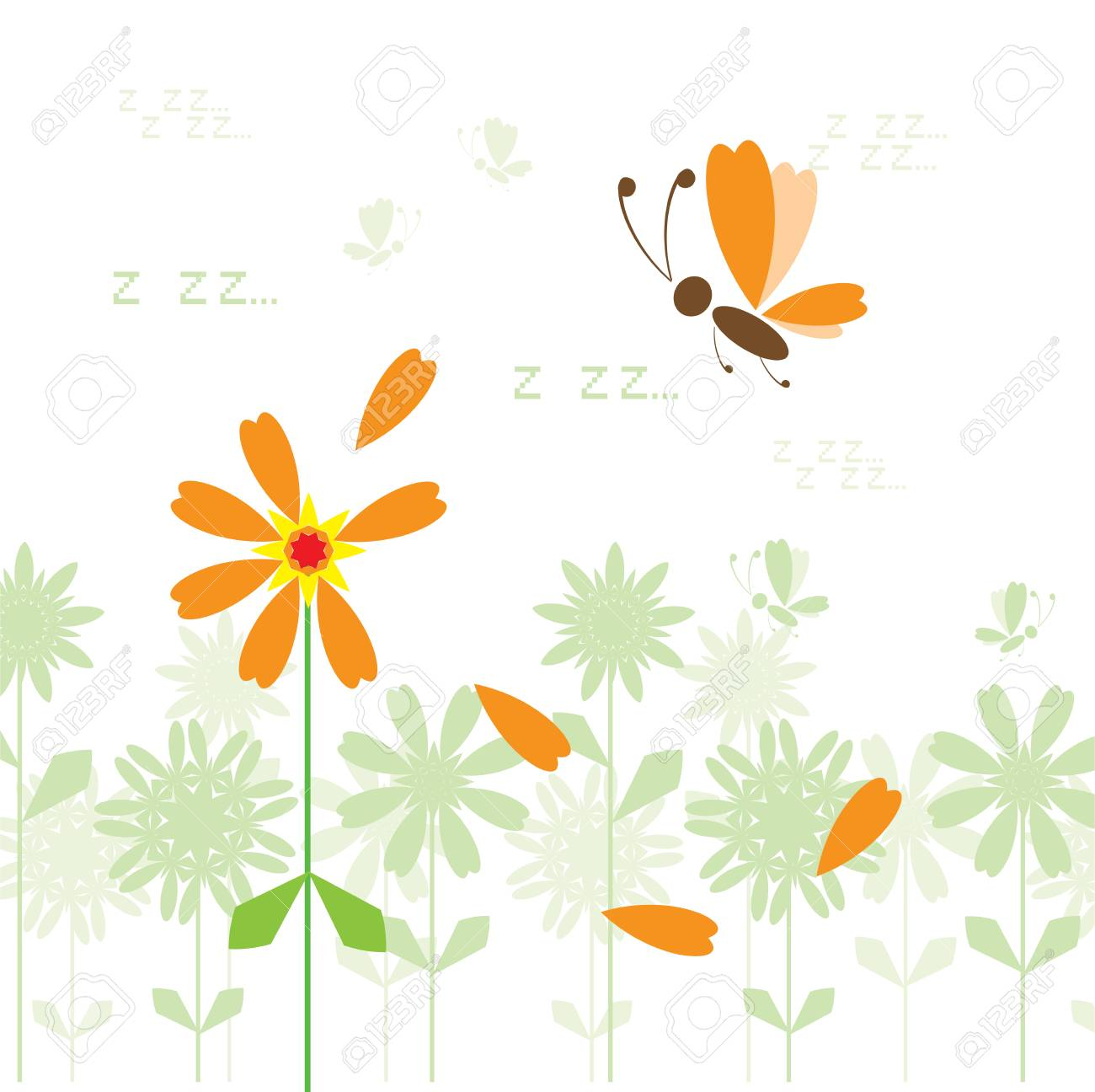 Summer background for your design Stock Vector - 4970654