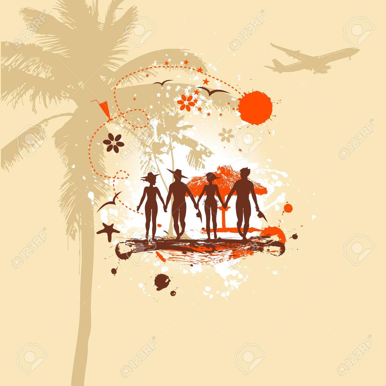 Summer vacations Stock Vector - 4970705