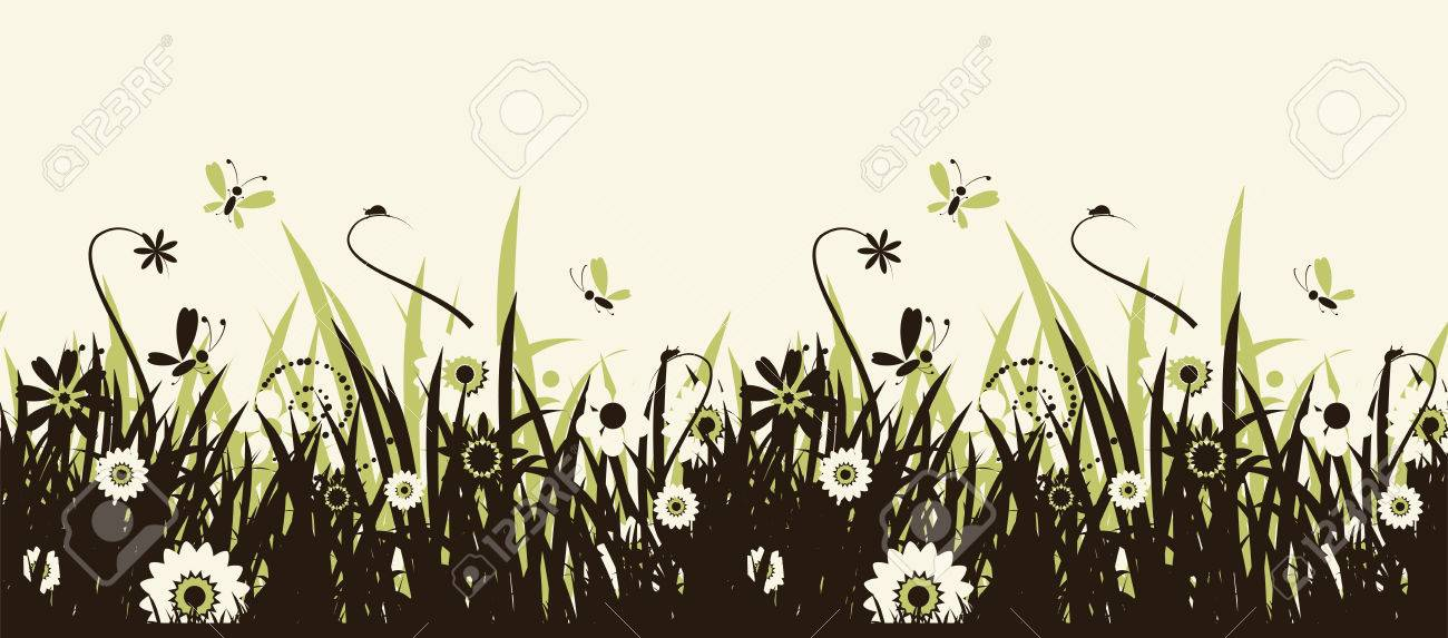 Summer meadow beautiful Stock Vector - 5186786