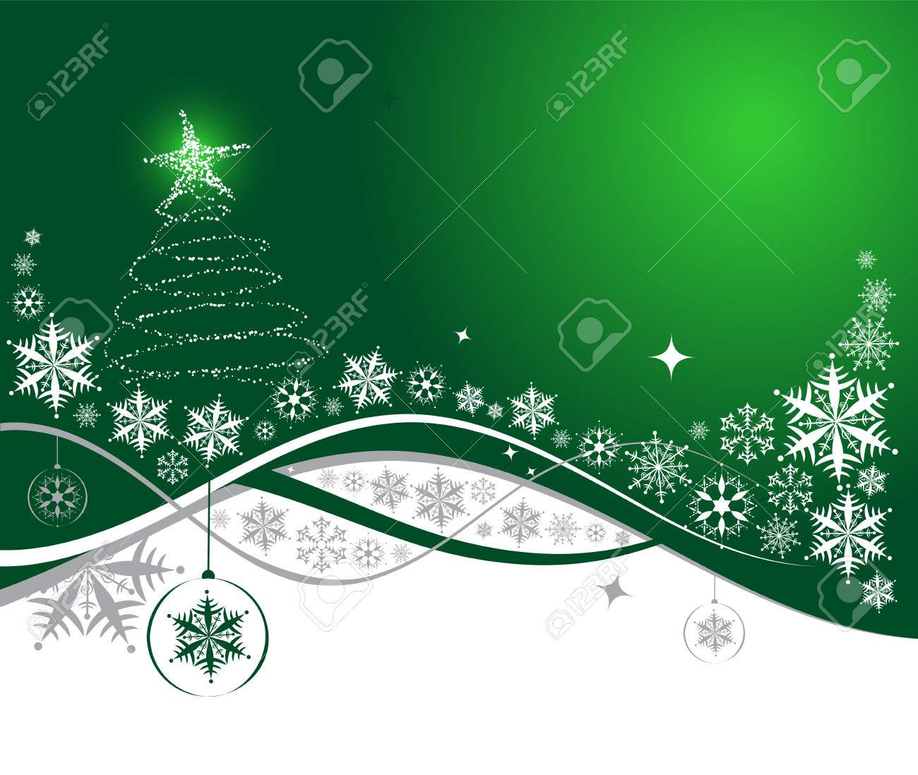 Christmas holiday background, vector illustration for your design - 5737020