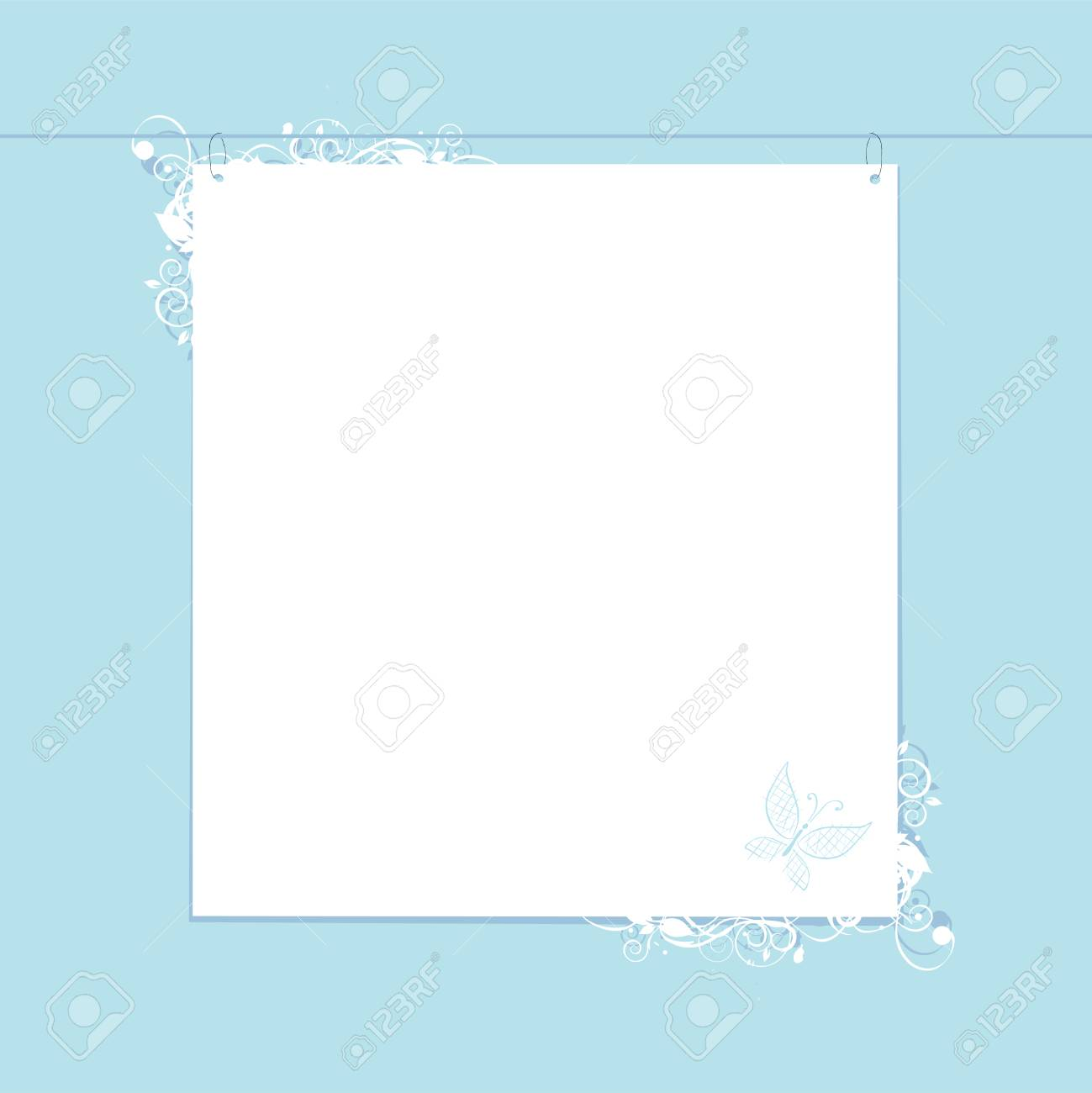 White paper form with place for your text Stock Vector - 6416532