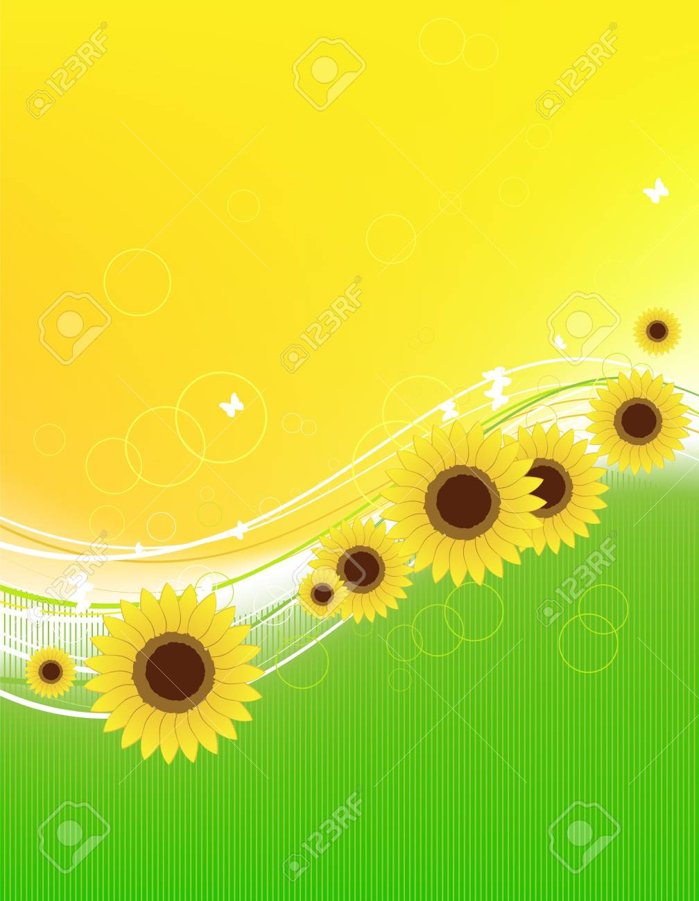 Floral abstract background for your design Stock Vector - 7509316