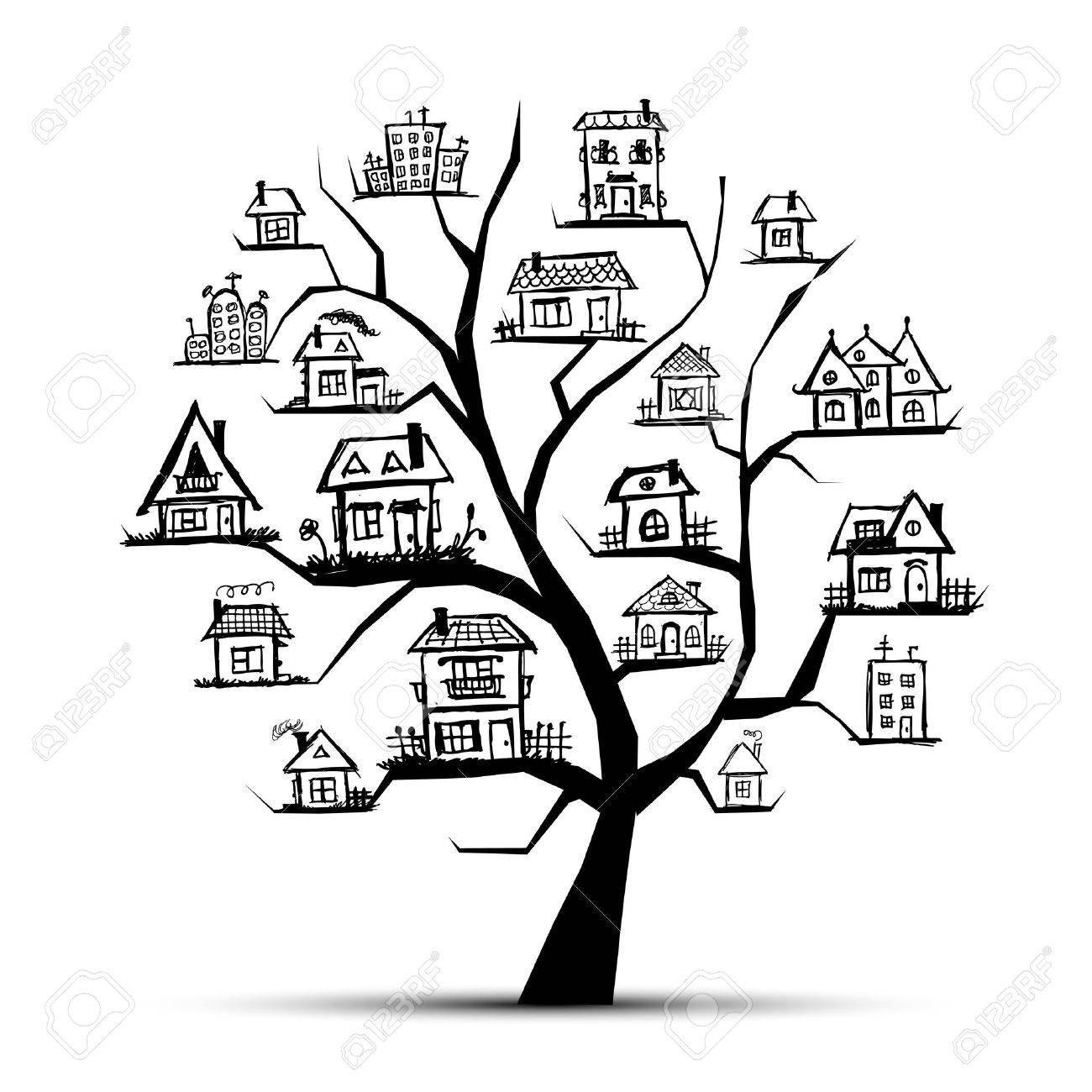76 151 tree house cliparts stock vector and royalty free tree