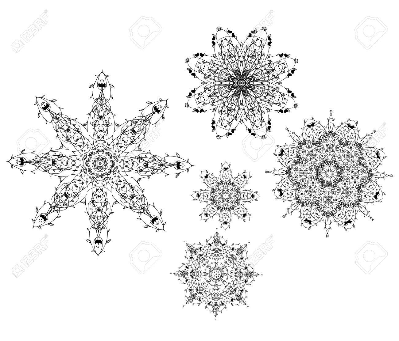 Set of arabesque ornament for your design Stock Vector - 9456795