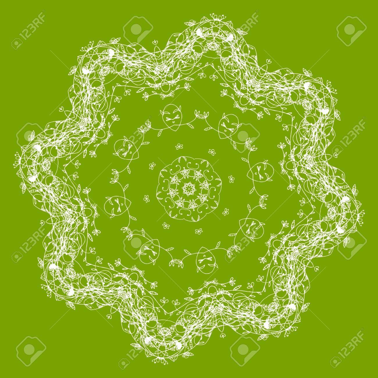 Arabesque ornament for your design Stock Vector - 10286413