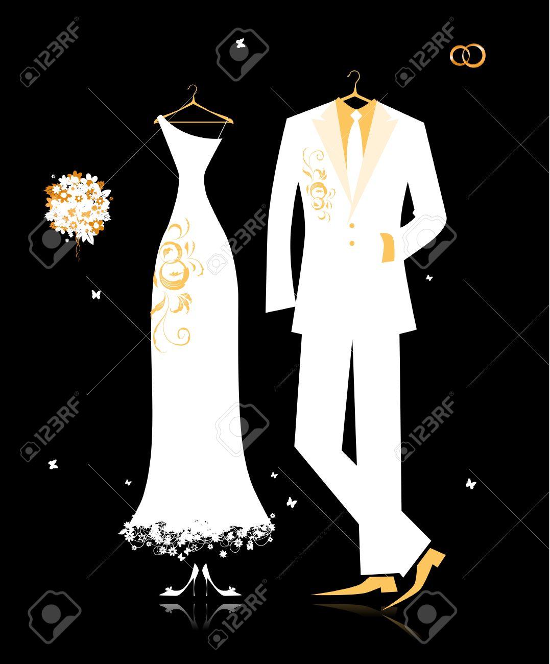 ricerca disegno bianco nero matrimonio o coppia simpatico