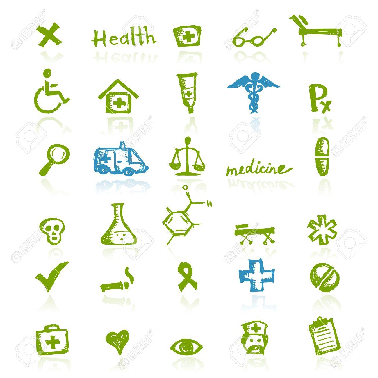 Medical icons for your design - 11264072