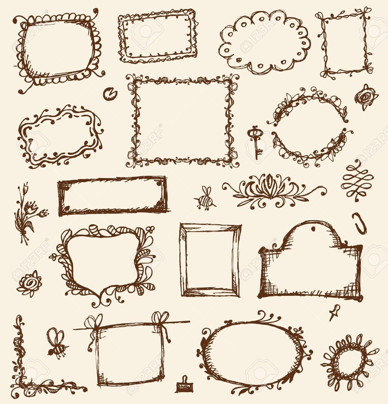 drawing frame designs photo sketch of frames hand drawing for your design