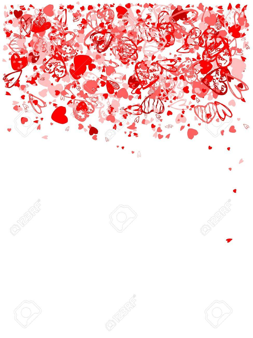 Valentine Rahmen Für Ihr Design Lizenzfrei Nutzbare Vektorgrafiken ...